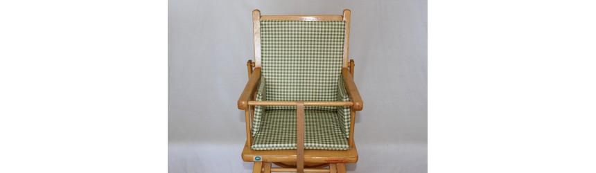 Coussins de chaise haute